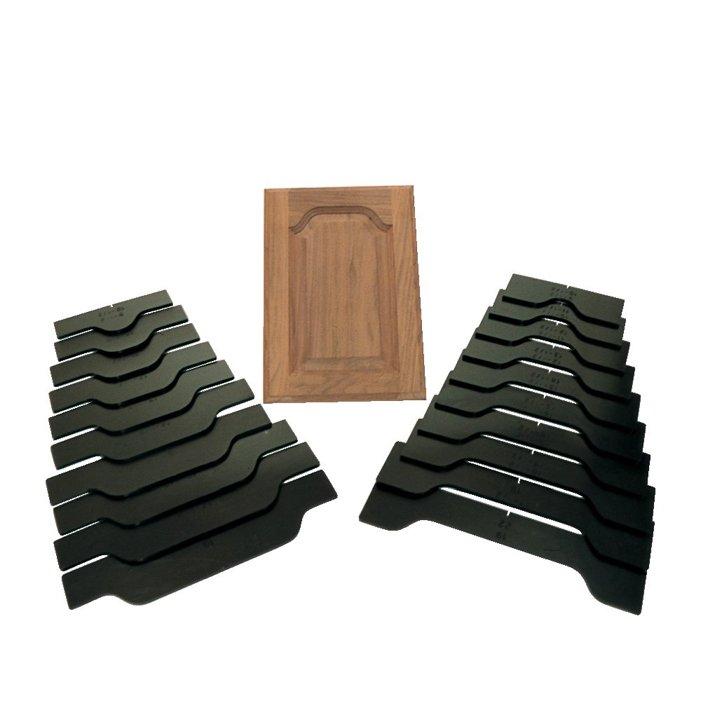 CMT TMP-002 Classic Country Doormaking Router Template Set by CMT