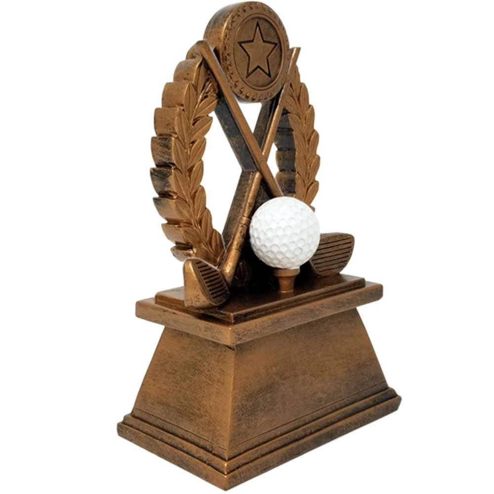 Amazon.com: Golf trofeo – Base de 8