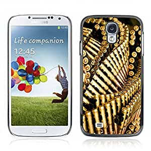 Colorful Printed Hard Protective Back Case Cover Shell Skin for Samsung Galaxy S4 IV (I9500 / I9505 / I9505G) / SGH-i337 ( Military Bullets )