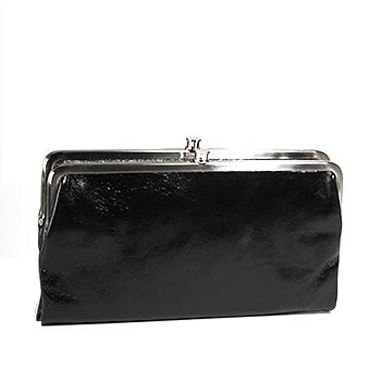 HOBO Vintage Lauren Wallet ,Black, One Size