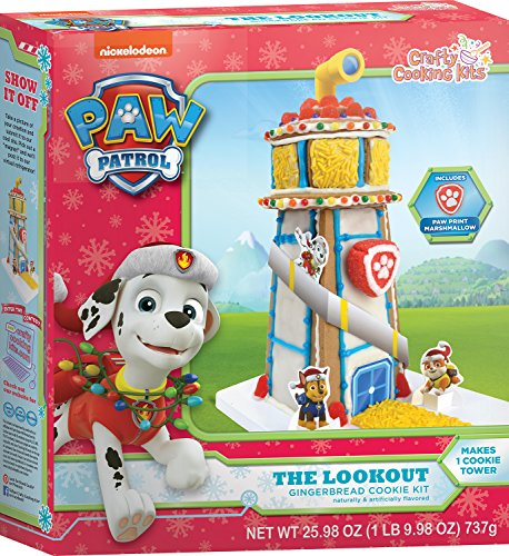 Crafty Cooking Kits Paw Patrol The Lookout Cookie  Gingerbread  25 95 Ounce
