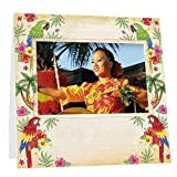 Fuji Instax™ TROPICAL LUAU Lightweight Paper Frame Our price is for 100 units - 3.75x2.380