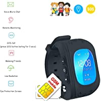 GPS Tracker bambino TKSTAR GPS Tracker Watch Smart Bracciale Bambino radiazioni inferiore Posizione in tempo reale monitoraggio SOS Calling Kids Finder Q50