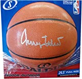 Jerry West Hand Signed Autographed I/O Basketball Los Angeles Lakers Beckett