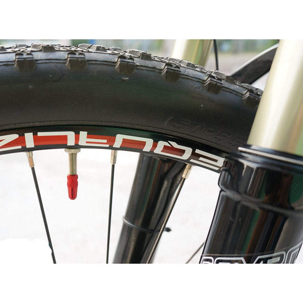 VORCOOL 30pcs eloxiert Aluminiumlegierung-Fahrrad Presta Valve Cap X Fahrrad Reifen-Ventil