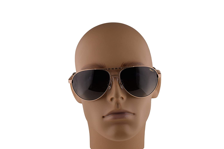 Amazon.com: Chopard SCHB01M - Gafas de sol (oro cepillado ...