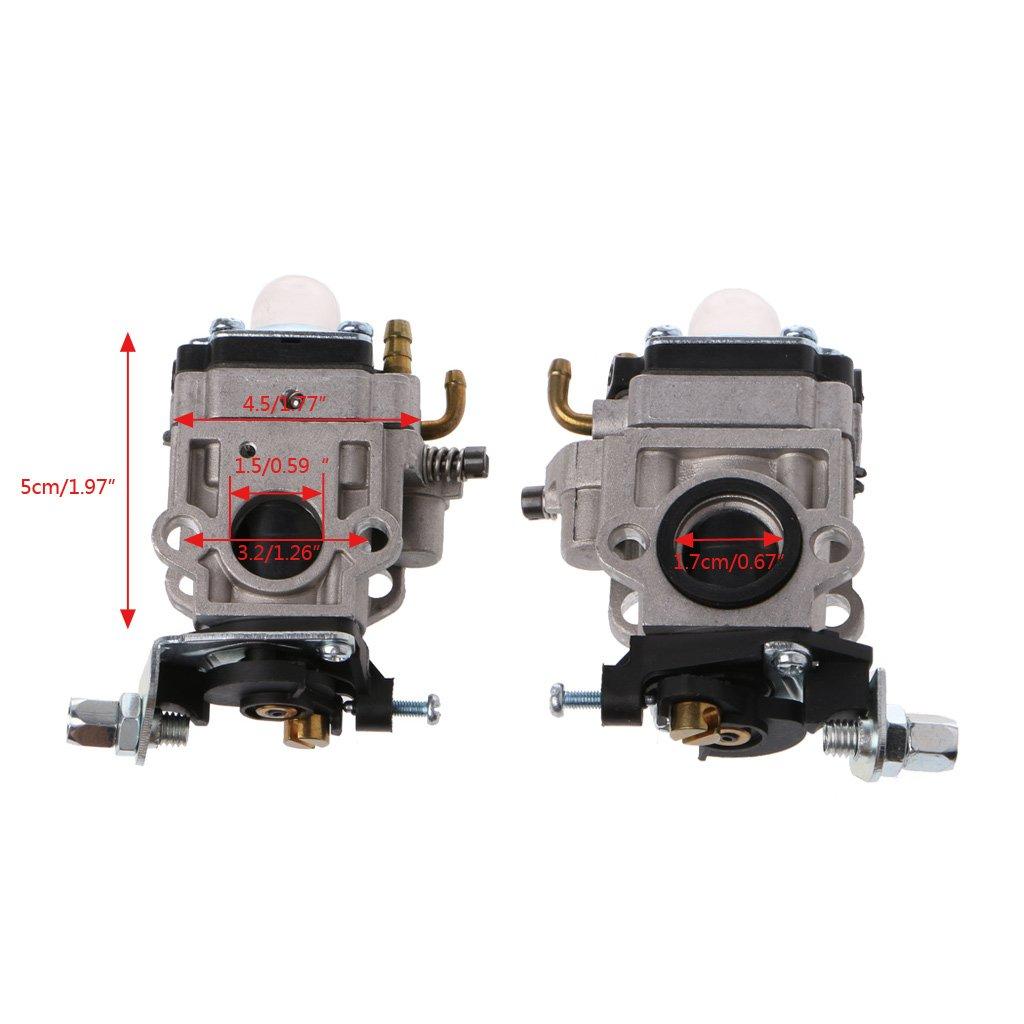 49 cc 50 cc MP15 kit per scooter a gas da 43 cc 15 mm Carburatore a 2 tempi 47 cc Werst