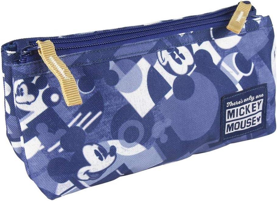 Estuche portatodo 2 Compartimentos de Mickey Mouse: Amazon.es: Equipaje
