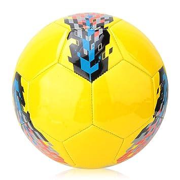 VGEBY1 Balón de fútbol Tradicional, tamaño 5 PU, Desgaste ...
