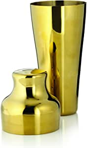 TRUE Belmont Gold Cocktail Shaker, Gold, 3764