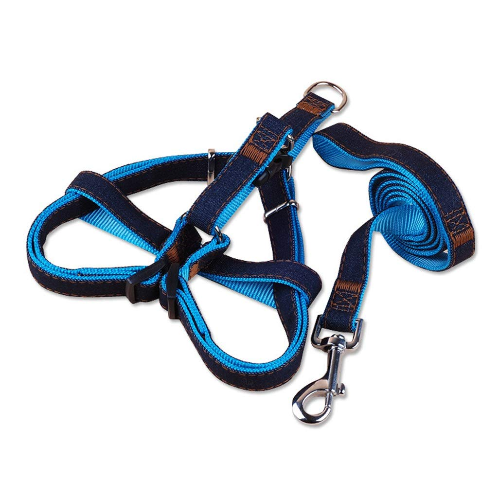 2  M 2  M DSADDSD Pet Leashes Durable Outdoor Take A Walk Cat Chest Strap Collars for Small Medium And Large Dogs Pet Supplies (color   2 , Size   M)