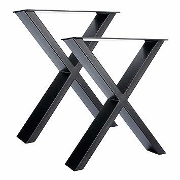 Pieds De Table En Metal.2 X Pieds De Table En Acier X Conception