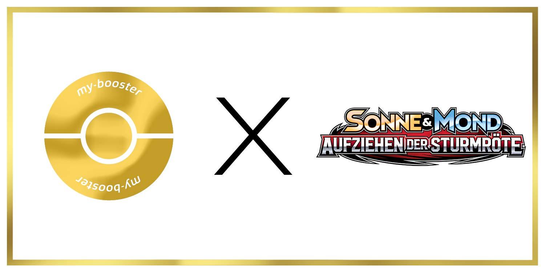 Octillery 23//111 Wendbare Holo #myboost X Sonne /& Mond 4 Aufziehen der Sturmr/öte Box mit 10 Deutsche Pok/émon-Karten