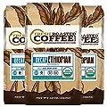 Ethiopian Sidamo Water Processed Decaf OFT Coffee, Whole Bean, Fresh Roasted Coffee LLC