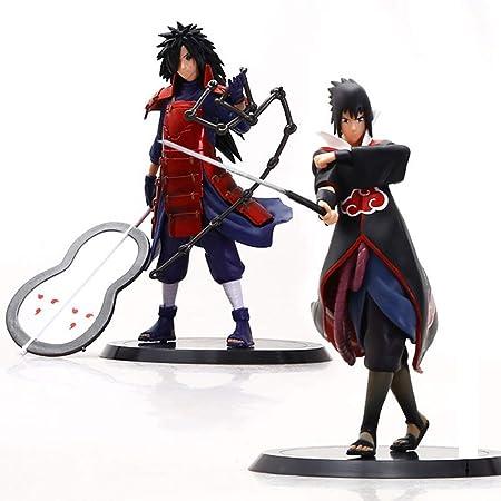Zfggd Juguetes de Personajes de Naruto: Sasuke 12 ª ...