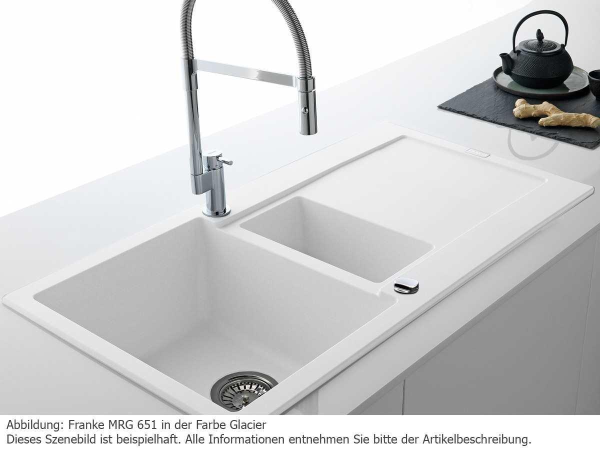Franke Inset Sink Maris MRG 651 Fragranite DuraKleenPlus Onyx Reversible Basin 1140176602 Amazoncouk Kitchen Home