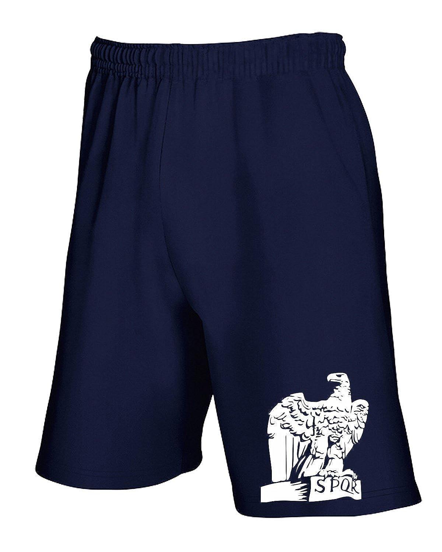 T-Shirtshock - Jogginghose Shorts TUM0036 ultras lazio ssl spqr eagle TSS_PCOR_TUM0036