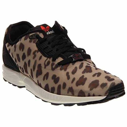 purchase cheap 7f7c0 b1334 denmark adidas originals womens zx flux leopard 03735 7bc4b  sale zx flux  decon mens animal print in dussan black by adidas 9 abc77 f49e2