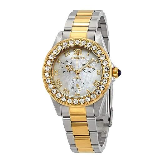 Invicta Angel Reloj de Mujer Cuarzo Suizo Correa y Caja de Acero 28464: Amazon.es: Relojes