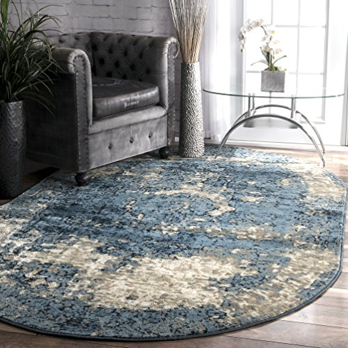Amazon Com Nuloom Owtc01a Transitional Lindsy Oval Rug 5