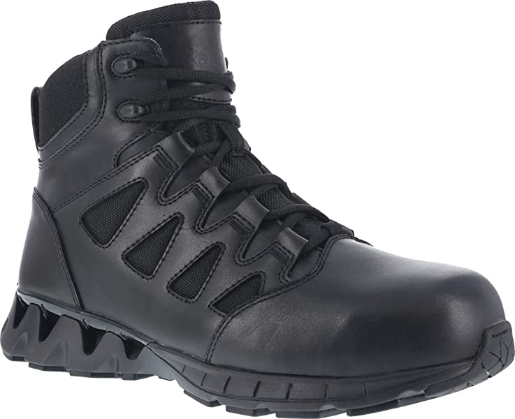 04724675718879 Reebok Men s 6 quot  Zigkick Tactical Boot Composite Toe Black ...
