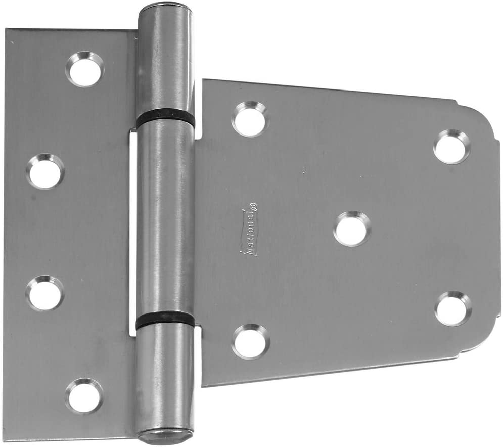 2 pack National Hardware N220-137 V287 Extra Heavy Gate Hinges in Zinc plated