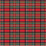"""Tartan Plaid Christmas Red and Green Gift Wrap Roll 24"""" X 16'"""
