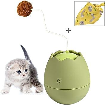 SutMsh Juguetes para Gatos Forma de Cáscara de Huevo Juguetes para ...