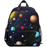Toprint Solar System Planets Kids Backpack Toddler Girls Boys Preschool School Bag Casual Travel Daypack Bookbag…