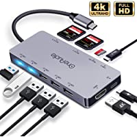 OneAudio USB Type C Multiport Adapter USB C Hub