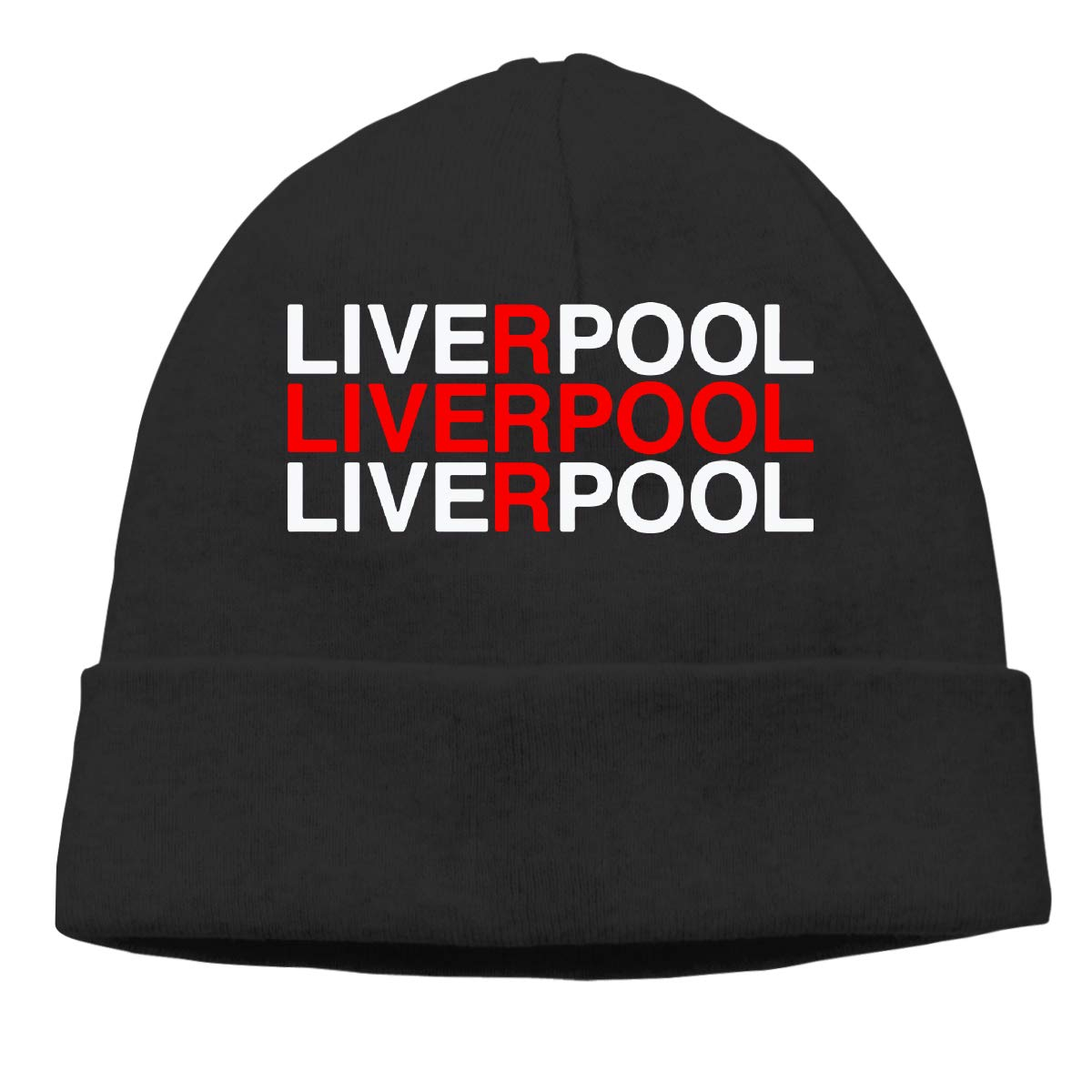 Liverpool Men Women Stretchy /& Soft Surf Skull Cap