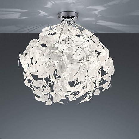 Lámpara de techo, cromo y plástico, Techo Proyección con ...