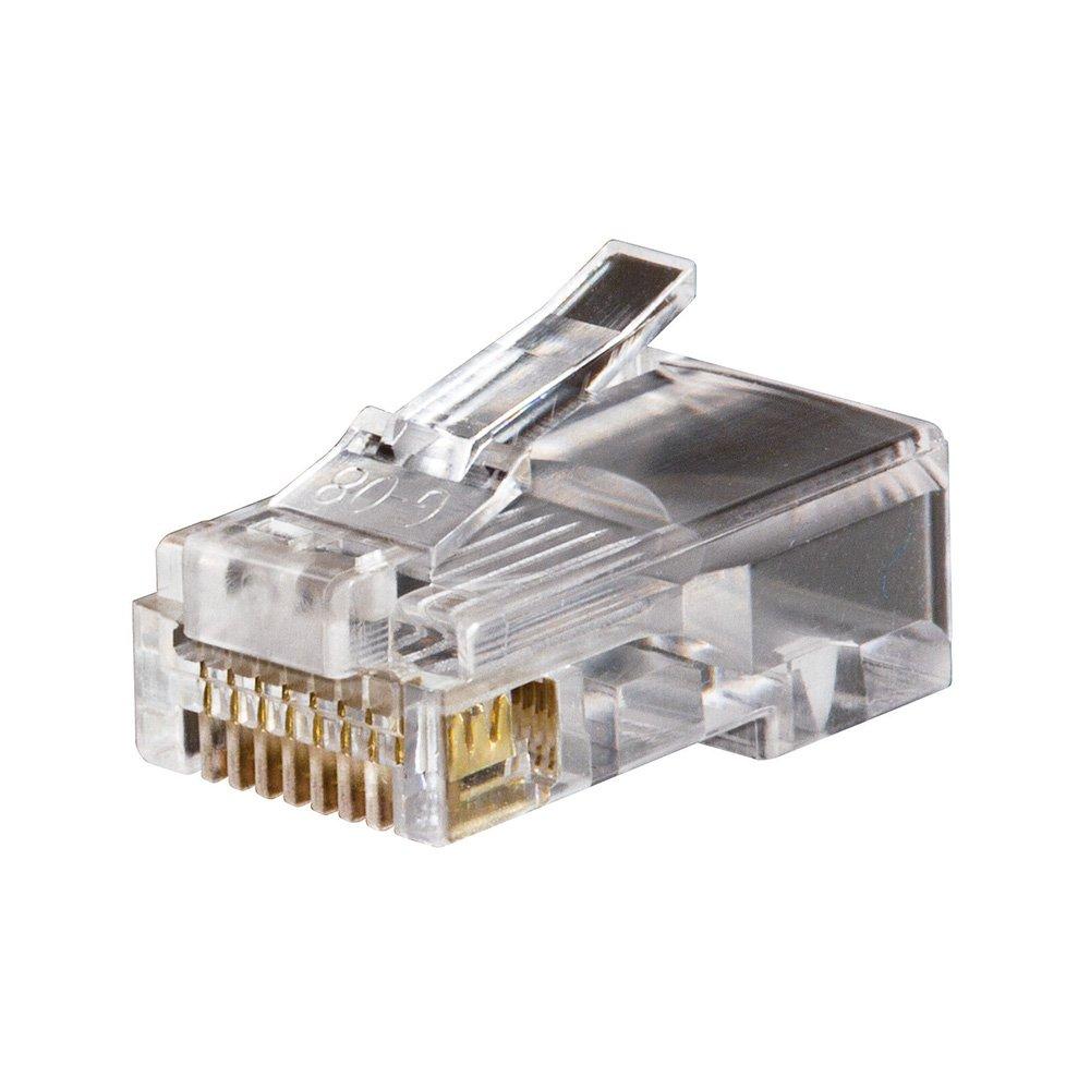 Klein Tools VDV826-602 Modular Data Plugs RJ45 CAT5e, 50-Pack by Klein Tools