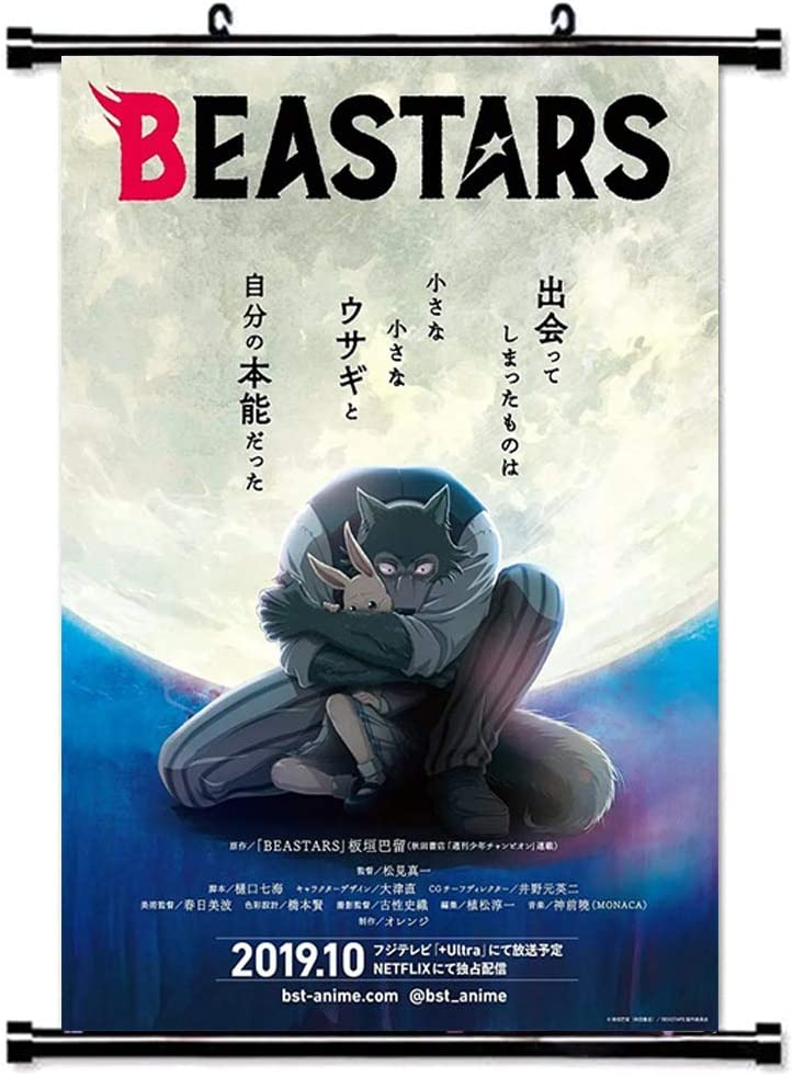 H02 Zhenzhiao Anime BEASTARS Poster BEASTARS Wanddekoration Wandbild Kleinformat Plakat f/ür Wandgestaltung