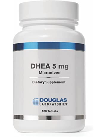 Douglas Laboratories - DHEA 5 mg - Micronized to Support Immunity, Brain, Bones,