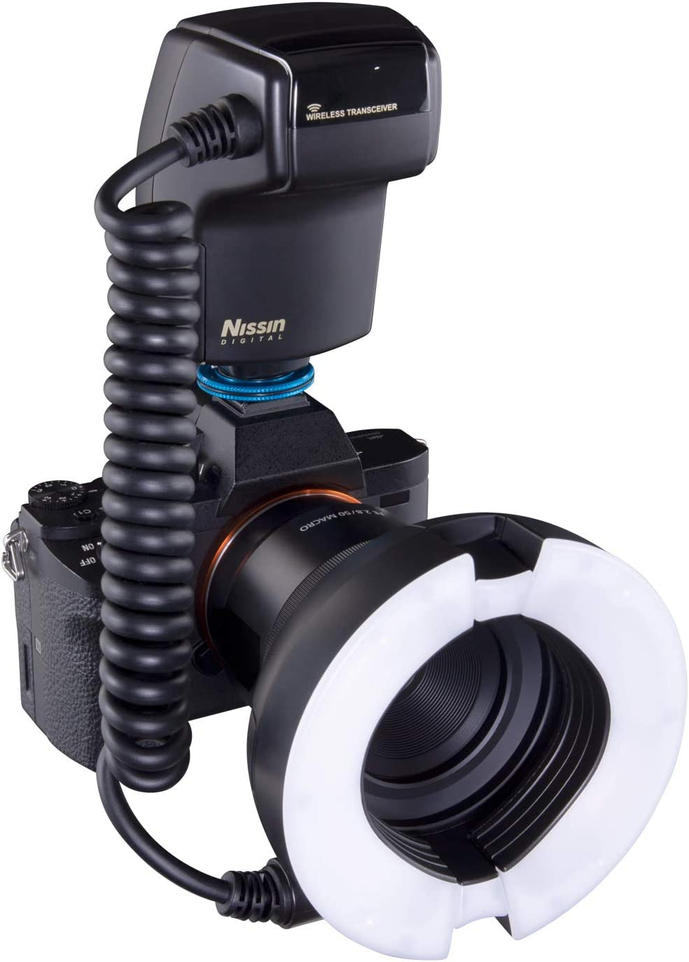 Nissin Macro Ring Flash Mf 18 For Sony Ttl Flash With Soft Diffuse Light And Precise Control For Professional Macro Photography Manual 1 1 To 1 1024 High Speed Sync Hss User Friendly Controls Camera Photo Amazon Com