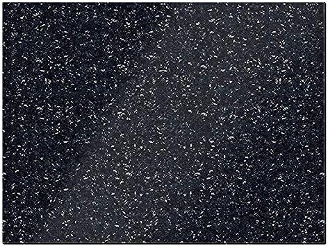 Creative Tops Naturals – Protector de superficie de trabajo de granito, negro, 40 x 30 cm (15¾