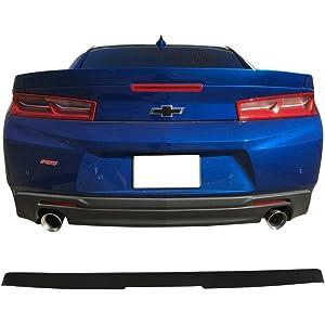 GBA Black Dawn Enterprises CAMARO16-FM RS Style Flush Mount Spoiler Compatible with Chevrolet Camaro