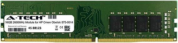 16GB PARTS-QUICK Brand Memory for OMEN by HP Obelisk 875-0014 Desktop PC DDR4-2666MHz Non-ECC UDIMM RAM 1X16GB