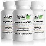 Jigsaw Health Magnesium w/SRT 240 Tablets/Bottle X 3 Bottles - Value Pack …