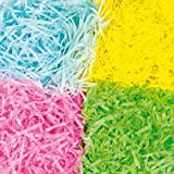 Craft Shredded Tissue in Spring Colours for Easter Arts and Crafts (Per pack)