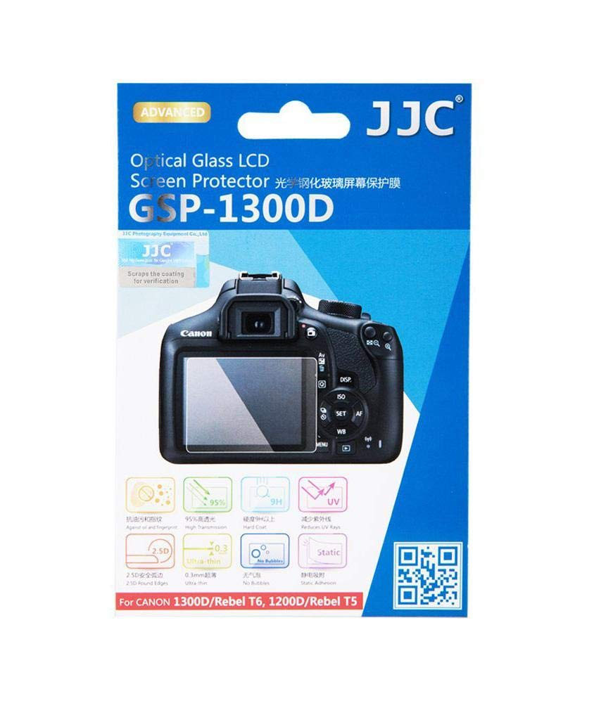 Jjc Gsp 1300d Tempered Optical Glass Screen Protector For