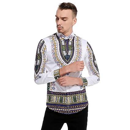 FLCH+YIGE Men Zipper Up Pullover Hoodie Fleece Stand Up Collar Splicing Loose Fit Sweatshirt Navy Blue L