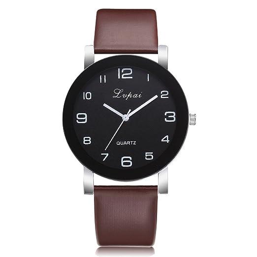VEHOME Reloj Casual para Mujer - Correa de Cuero - Cuarzo analógico-Relojes Inteligentes relojero Reloj reloje de Pulsera Marcas Deportivos: Amazon.es: ...