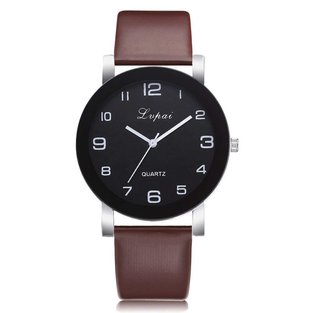 Women Watches, Women's Casual Quartz Leather Band Watch Analog Wrist Watch,Women's Contemporary Designer Watches,Brown