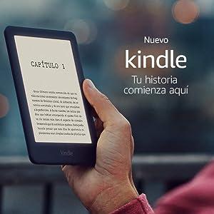 Nuevo e-reader Kindle, ahora con una luz frontal, color Negro, 10ª generación - 2019