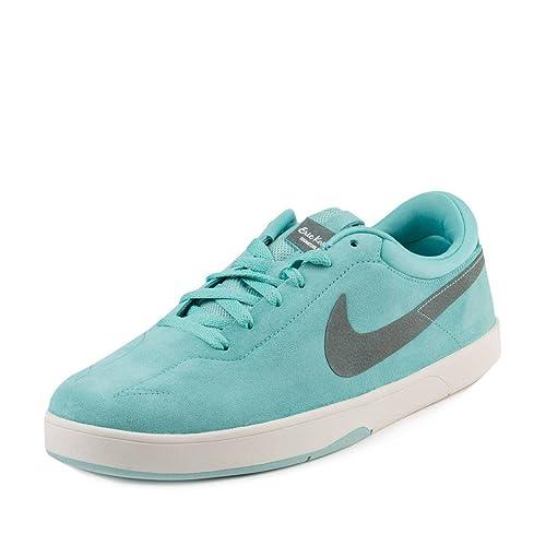 bf2449855d08 Nike Mens SB Eric Koston Paradise Paradise Aqua Slate Blue Suede Size 9.5