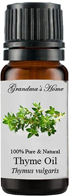 Grandma`s Home Essential Oils - 100% Pure Therapeutic Grade - Buy 4 Get 1 Free! (Thyme, 10 mL)