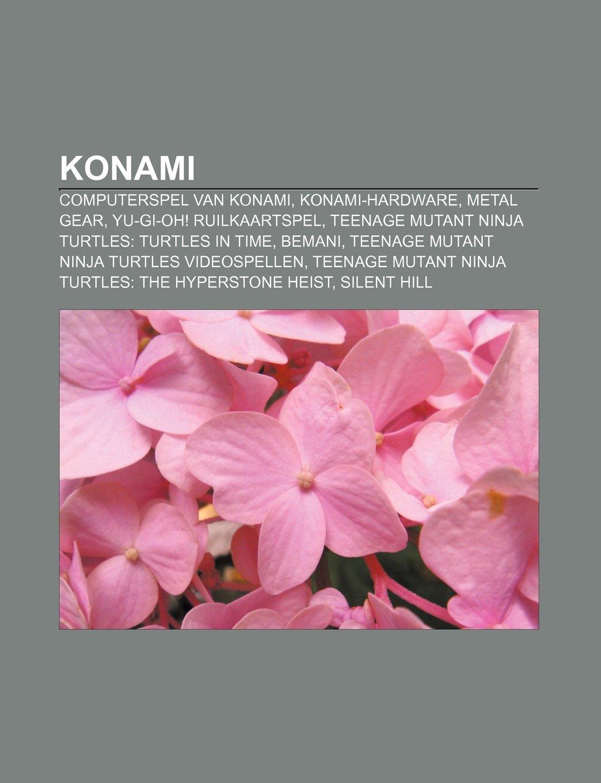 Konami: Computerspel van Konami, Konami-hardware, Metal Gear ...
