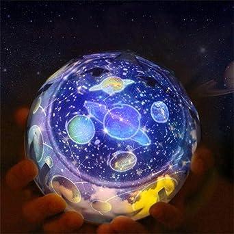 Proyector LED giratorio estrella nueva iluminación nocturna que ...
